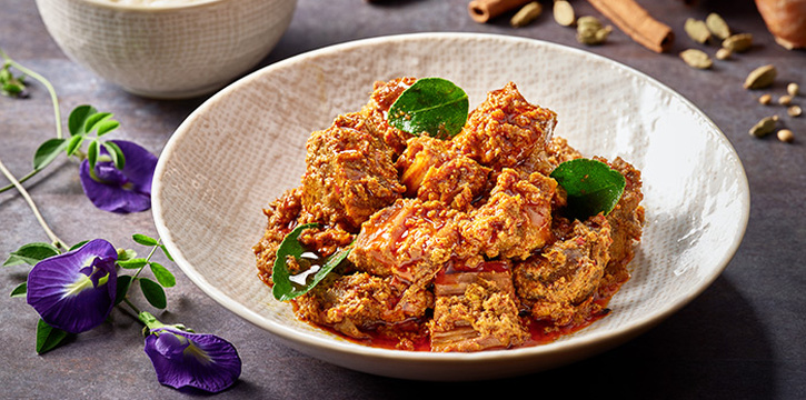 Beef Rendang from Indigo Blue Kitchen in Orchard, Singapore
