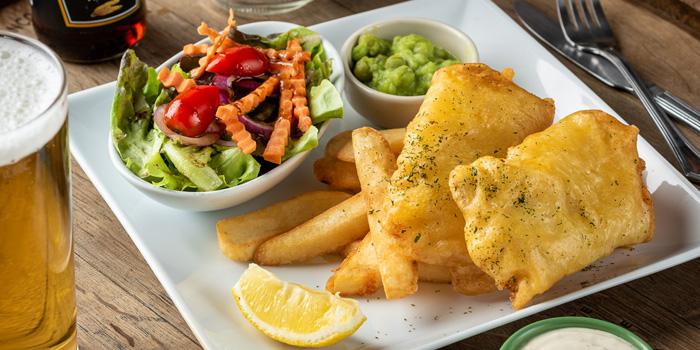 Fish & Chips from The Kiwi Pub Sports & Grill at 4/4-5 Soi Preeda, Soi Sukhumvit 8, Khlong Toei Bangkok