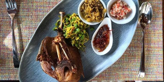 Food from Kalyana Restaurant, Ubud, Bali