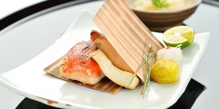 Grilled Fish from Yamazato at The Okura Prestige Bangkok Hotel 57 Witthayu Rd, Lumphini, Pathum Wan Bangkok