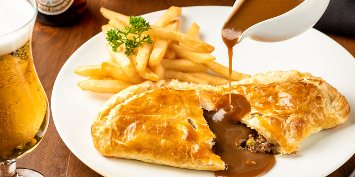 Guinness Pie from The Kiwi Pub Sports & Grill at 4/4-5 Soi Preeda, Soi Sukhumvit 8, Khlong Toei Bangkok