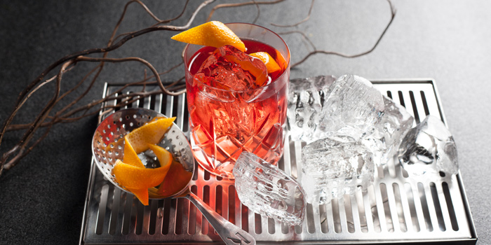 Negroni from BottomsUp Thonglor at 888 Sukhumvit Soi 55 Bangkok