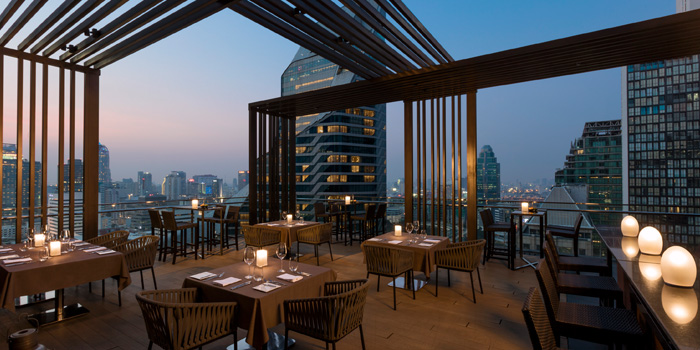 Outdoor of Elements at The Okura Prestige Bangkok Hotel 57 Witthayu Rd, Lumphini, Pathum Wan Bangkok
