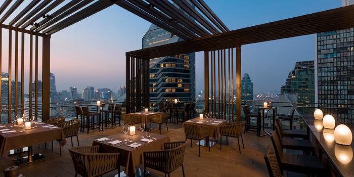 Outdoor of Elements at The Okura Prestige Bangkok Hotel 57 Witthayu Rd, Lumphini, Pathum Wan Bangkok