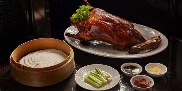 Peking Duck from Fei Ya at Renaissance Bangkok Ratchaprasong Hotel Fl.3 518/8, Ratchaprasong Rd. Lumphini, Pathum Wan Bangkok