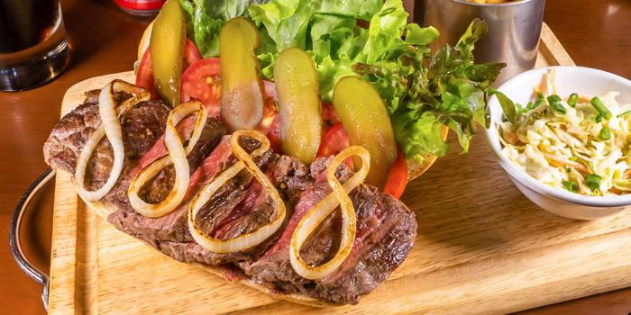 Steak Baguette from The Kiwi Pub Sports & Grill at 4/4-5 Soi Preeda, Soi Sukhumvit 8, Khlong Toei Bangkok