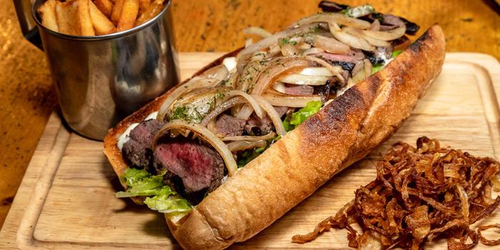 Steak Sandwich from The Australian Pub & BBQ at from The Australian Pub & BBQ at 37 Sukhumvit Soi 11 Khlong Tan Nuea, Wattana Bangkok