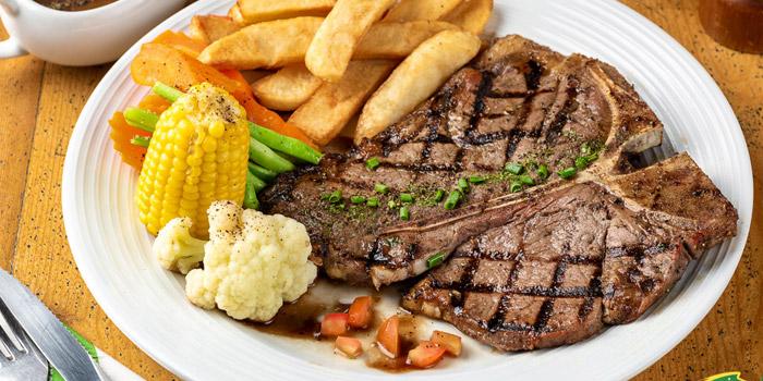T-Bone Steak from The Australian Pub & BBQ at from The Australian Pub & BBQ at 37 Sukhumvit Soi 11 Khlong Tan Nuea, Wattana Bangkok