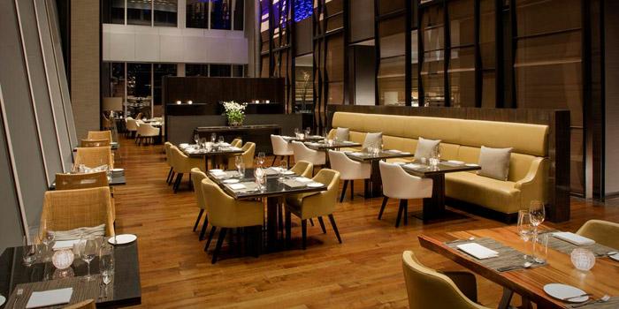 Dining Room of Up & Above at The Okura Prestige Bangkok Hotel 57 Witthayu Rd, Lumphini, Pathum Wan Bangkok