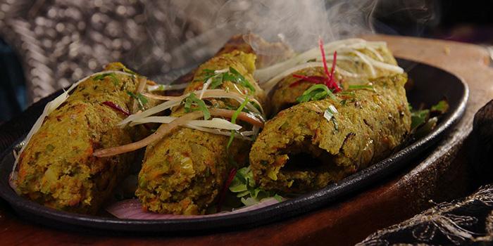 Vegetable Sheekh Kebab from Khana Khazana at 153 Sukhumvit Soi 11/1 Bangkok