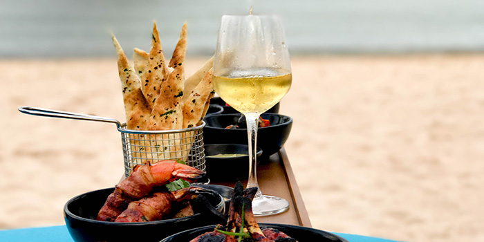 Food from The The Beach Club at Courtyard by Marriott Bali Nusa Dua Resort, Bali