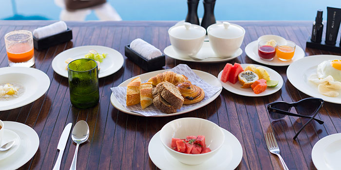 Food from Cire and Quila, Uluwatu, Bali