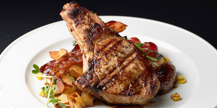 Grilled Pork Chop from Ninethirty by Awfully Chocolate in East Coast, Singapore