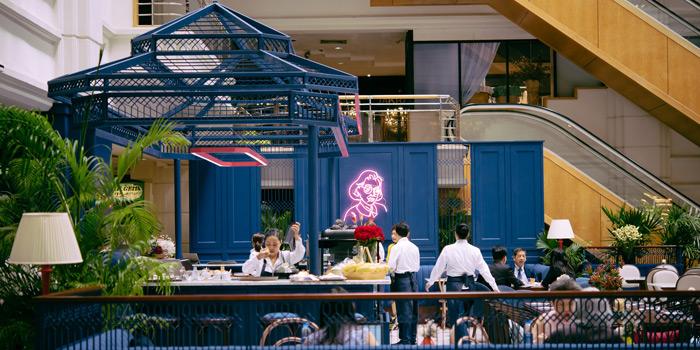 Ambience of Mai Mai Eatery at The Peninsula Plaza 1 Fl. 117-118 Ratchadamri rd Lumpini, Patumwan Bangkok
