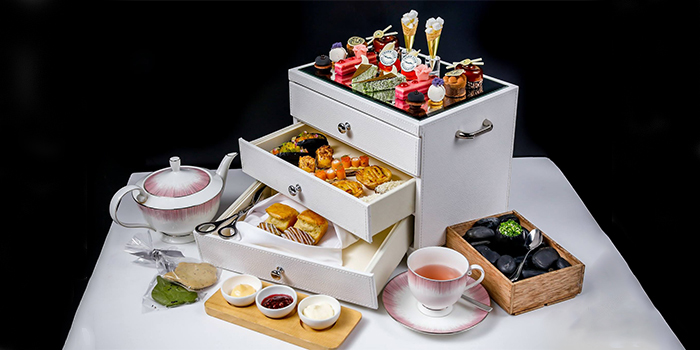 Afternoon Tea Set from Anti:dote at Fairmont Singapore in City Hall, Singapore
