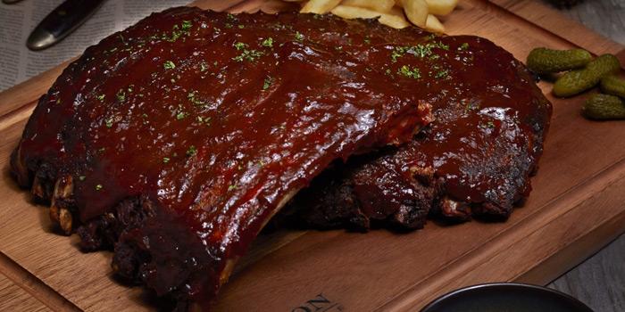 BBQ Pork Ribs from Babylon Steakhouse - Asoke at 1624 New Petchaburi Rd Makkasan, Ratchathewi Bangkok