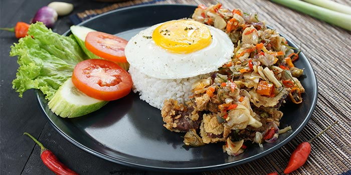 Beef Matah Rice at Ground Up