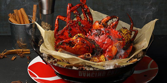 Black Pepper Crab from Dancing Crab at VivoCity in Harbourfront, Singapore