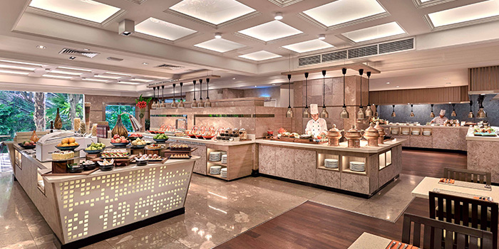 Buffet Spread from Ginger in PARKROYAL on Beach Road in Bugis, Singapore