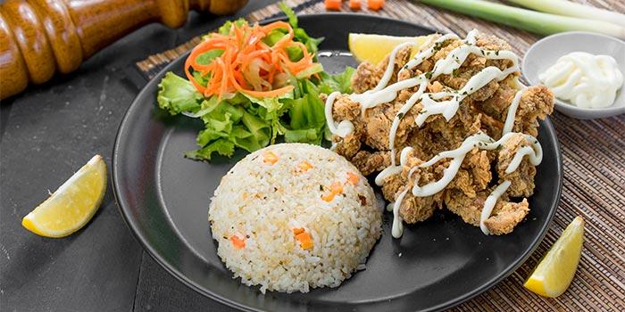 Butter Rice Chicken at Ground Up