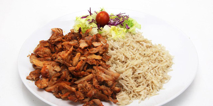 Chicken Doner with Rice, Sultan