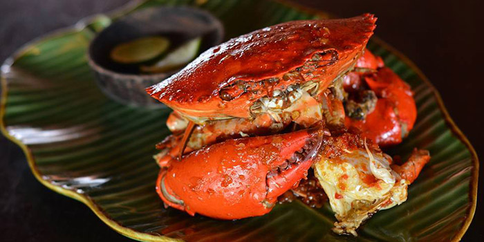 Crab Sambal Merah from Sambal Shrimp, Seminyak, Bali