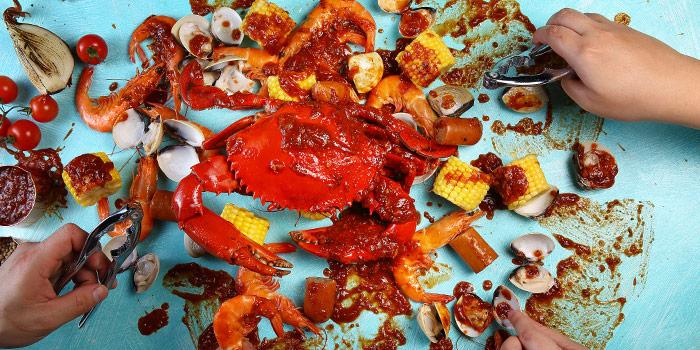 Crab with Cajun Sauce from Dancing Crab in Bukit Timah, Singapore