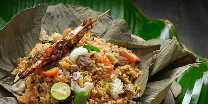 Food from Bebek Timbungan, Kuta, Bali