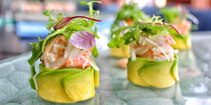 King Crab Roll Maki from Indigo Canggu Restaurant, Bali