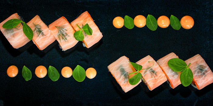 New Style Sashimi Salmon from Indigo Canggu Restaurant, Bali