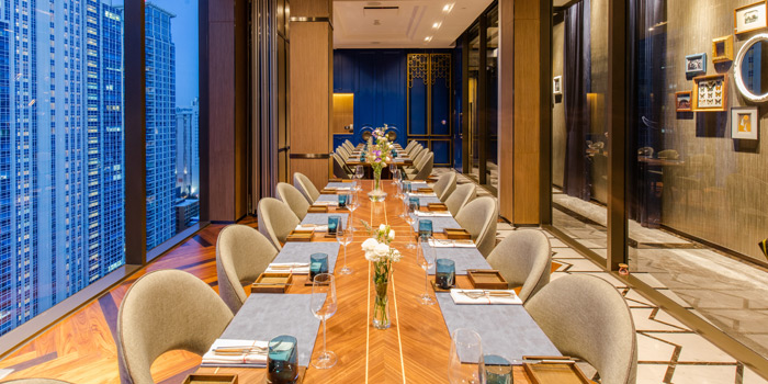 Dining Area from CHAR Bangkok at Hotel Indigo Bangkok Wireless Road, Bangkok