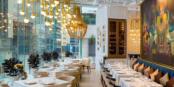 Dining Area, Estiatorio Keia, Central, Hong Kong