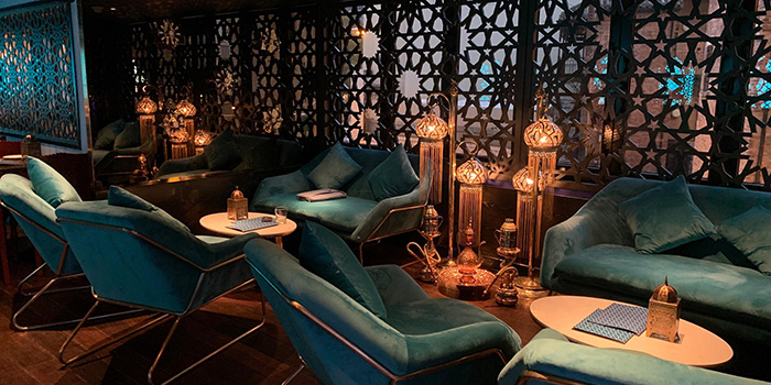 Dining Area, Shahrazad Lebanese Dining Lounge & Bar, Central, Hong Kong