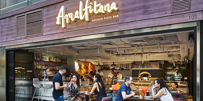 Exterior, Amalfitana Artisan Pizza Bar, Repulse Bay, Hong Kong