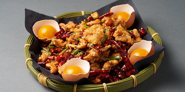 Firecracker Chicken from Lokkee in Dhoby Ghaut, Singapore