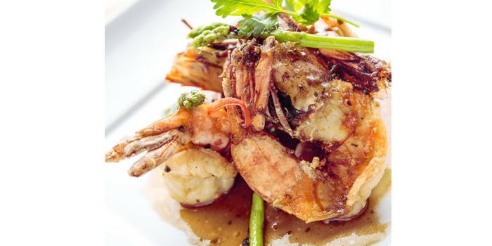 Food from Baan Talay in Bangtao, Phuket, Thailand.