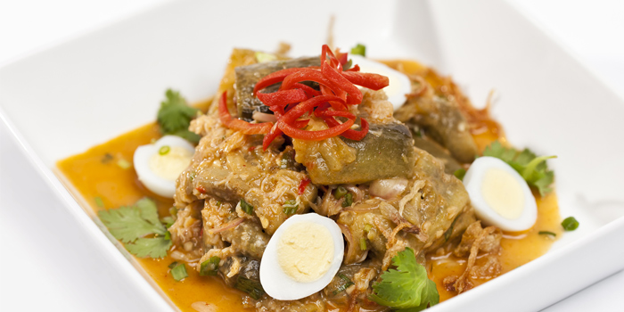 Food from Baan Talay in Bangtao, Phuket, Thailand.