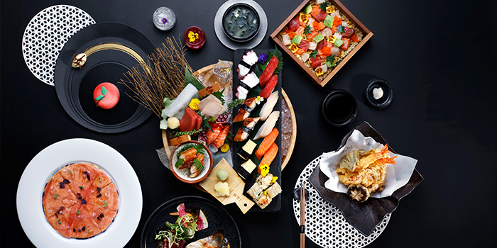 Food Spread from Akira Back in JW Marriott Hotel Singapore South Beach in City Hall, Singapore