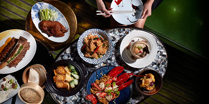 Food Spread from Madame Fan at JW Marriott Singapore South Beach in Bugis, Singapor