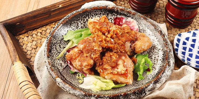 Fried Chicken with Sweet Sauce, Toripon, Causeway Bay, Hong Kong