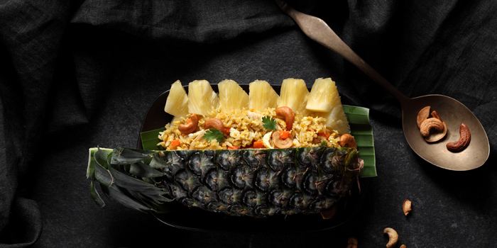 Fried Rice Pineapple from Buranee Bar & Bistro at 23 Phra Athit Rd Chanasongkram, Phranakhon Bangkok