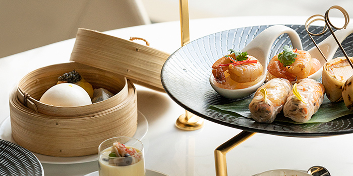 Asian Afternoon Tea, Garden Lunge, Central, Hong Kong