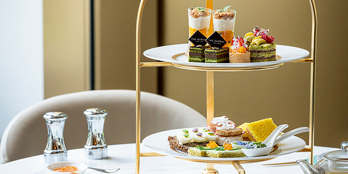 The Murray Signature Afternoon Tea, Garden Lunge, Central, Hong Kong