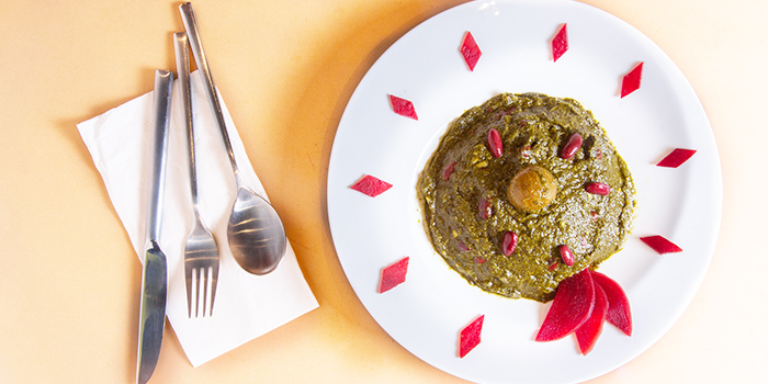 Ghormeh Sabzi from Pita Tree Mediterranean Kitchen & Bar in Boat Quay, Singapore