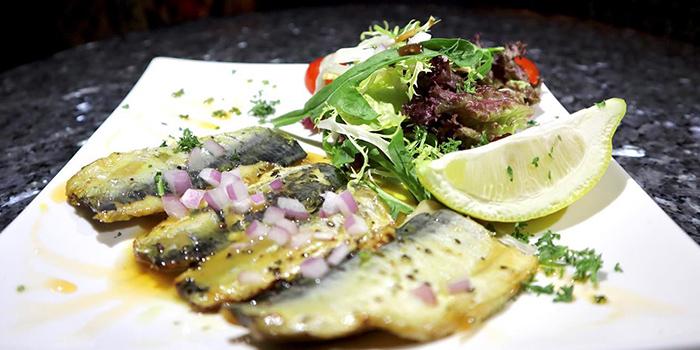Grilled Alexandria Sardines, Sahara, Soho, Central, Hong Kong