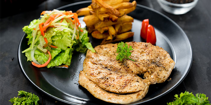 Grilled Chicken Steak at Ground Up