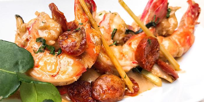 Grilled Shrimp, Staunton