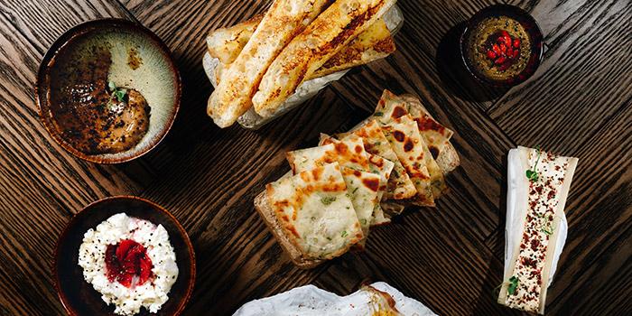 Group food, KONG by Bread & Beast, Wan Chai, Hong Kong
