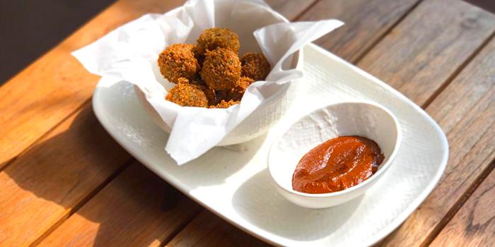Hot Falafel from Casa Poncho @ Kampong Glam in Bugis, Singapore