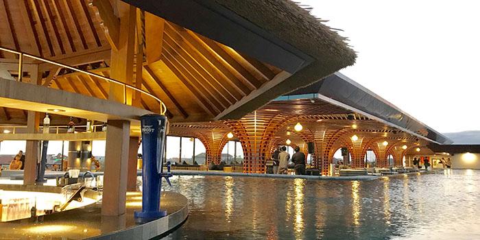 Interior from Berlin Gastro Kitchen and Pool Bar, Kuta, Bali